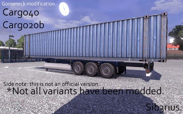 Gooseneck trailer by Sib3rius