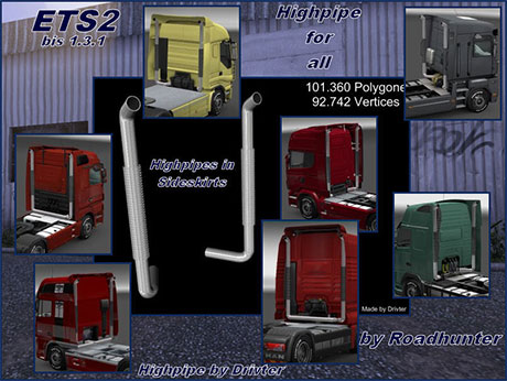 Highpipe Tuning For All Trucks Ets2planet Com