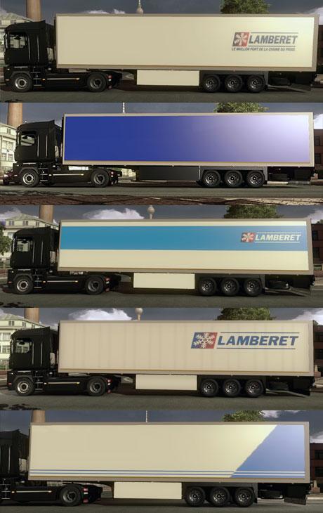 Lamberet trailer pack