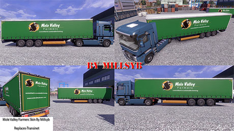 Mole Valley Farmers trailer