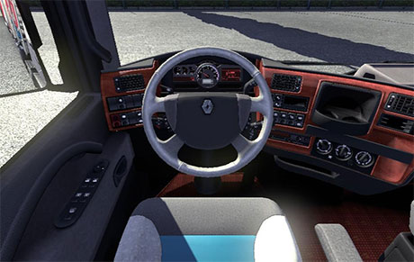 Renault Magnum stylish interior