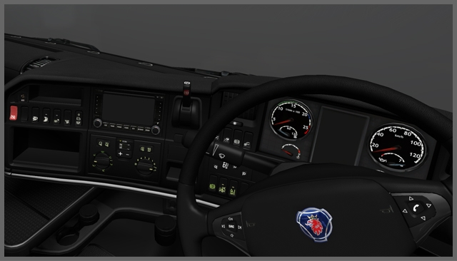 Scania Dark interior