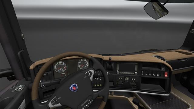 Scania interior - customized by Boris Lozac