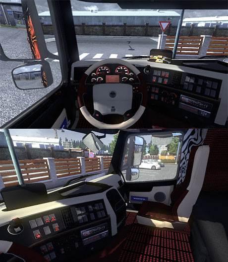 Volvo FH Custom interior