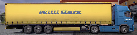 Willi Betz Trailer