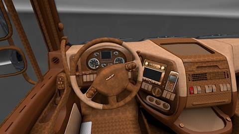 DAF Retro Interior
