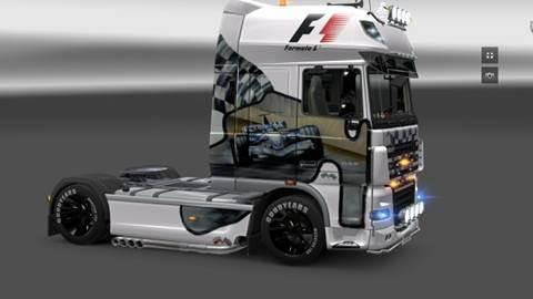 DAF XF F1 TEAM Skin