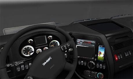 DAF XF Samsung Galaxy S4 Mod