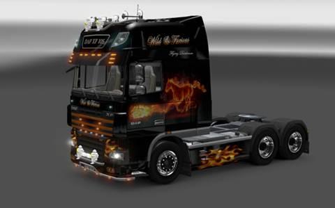 DAF XF105 Fast and Furious Skin