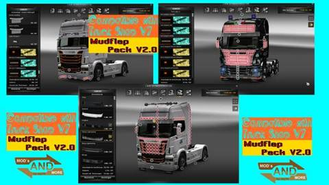Front Mudflap Pack