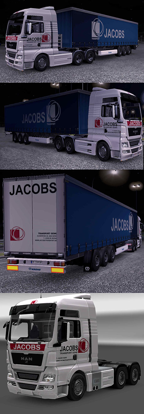 Jacobs Transport Combo skin pack