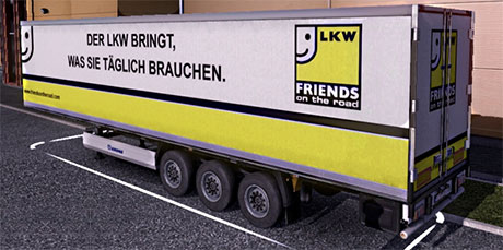 Krone Cooliner - Friends ond the road trailer