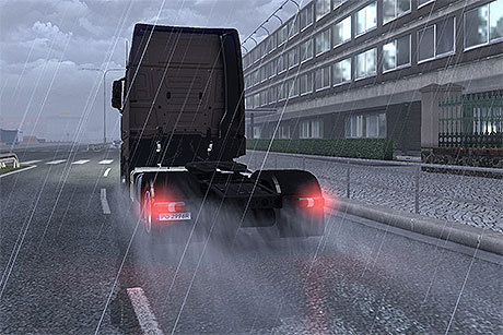 Larger rain spray