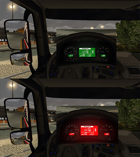 MB Actros Board Computer Pack