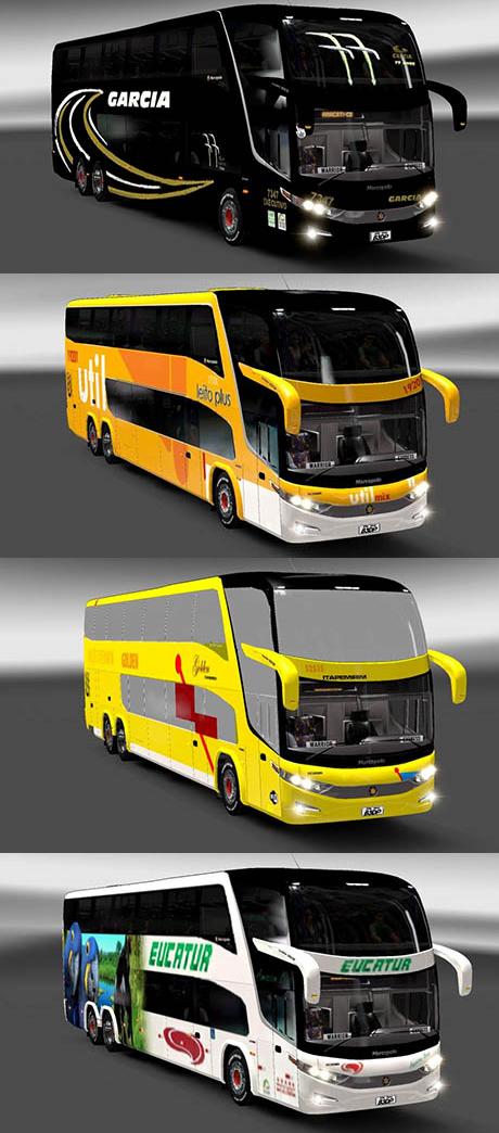 Marcopolo 1800DD G7 4 Skin