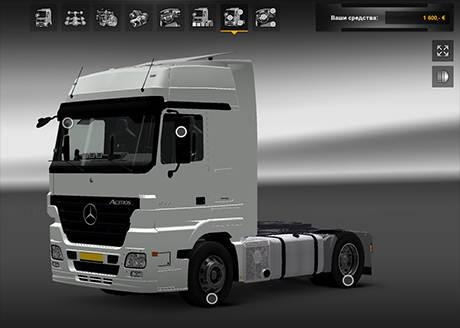 Mercedes-Benz Actros MP2 1844