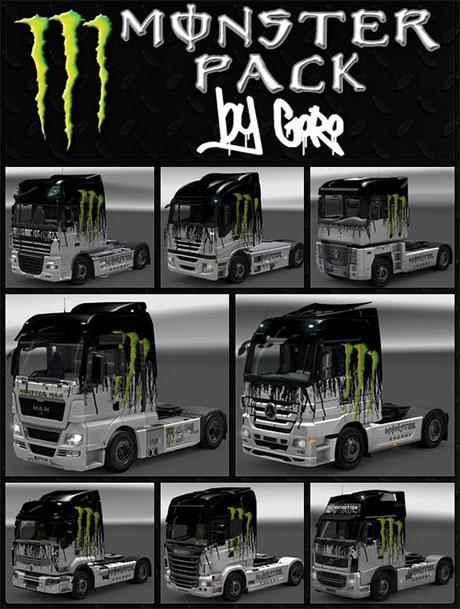 Monster Skin Pack