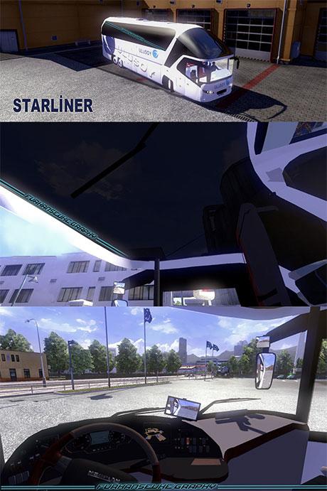 Neoplan Starliner and TourlinerV3