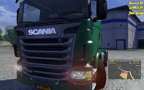 New SCANIA Lights