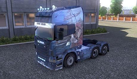 New Scania Skin