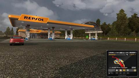 Real Gas stations by TR Design Team