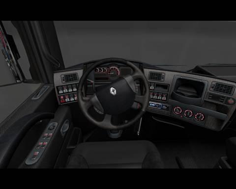 Renault Magnum Dark Interior