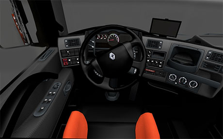 Renault Magnum Dark interior + GPS