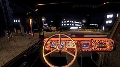 Scania 111s Interior