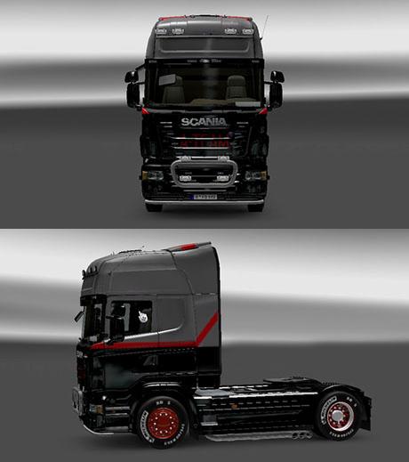 Scania A Team Skin