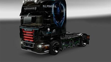 Scania Alienware skin