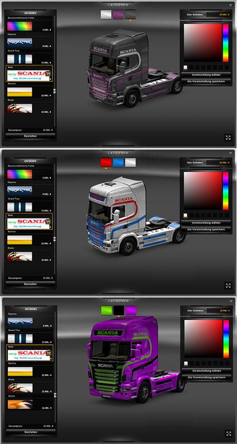 Scania Colorable Paintjob