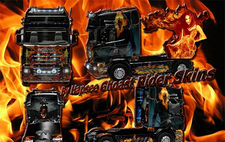 Scania Ghost Rider Skin