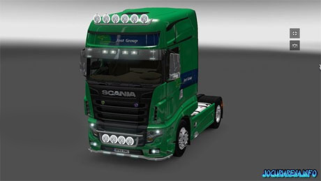 Scania R700 V1.5 Jost Group skin