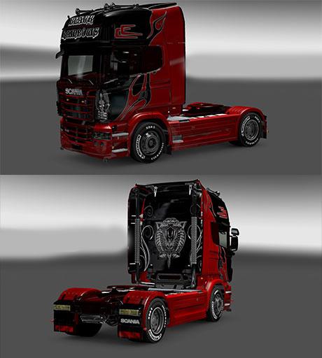 Scania Skin Black