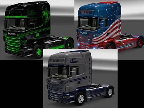 Scania Skin Pack 2
