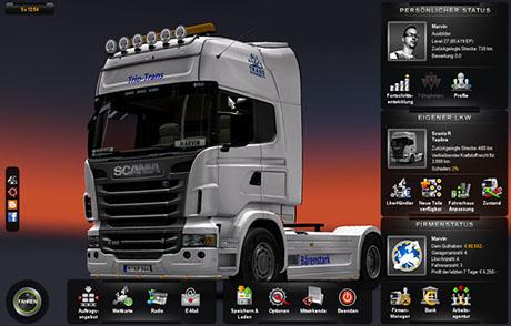 Scania Trio Trans Skin