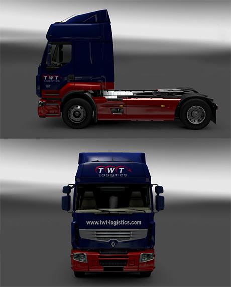 TWT Logistics Skin