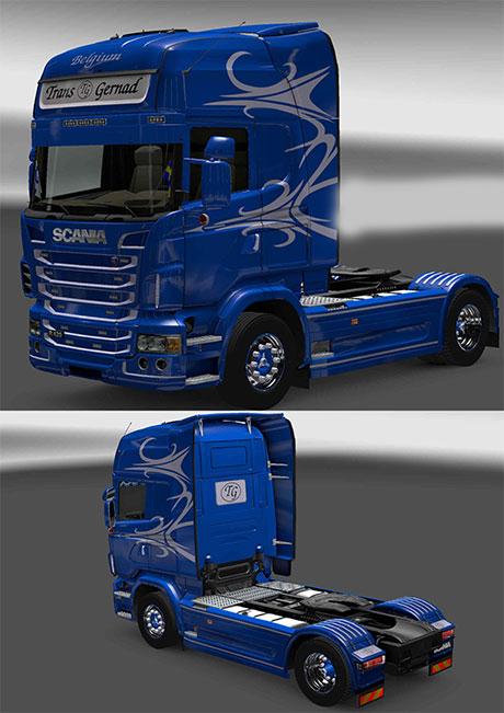 Trans Gernad Scania Skin