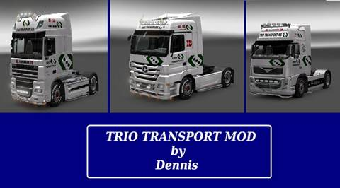 Trio Skin Pack by Dennis