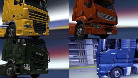 Truck Chromed Details