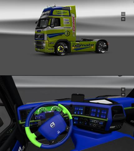 Volvo FH16 BP Ultimate pack