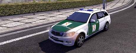 AI Car Guardia Civil
