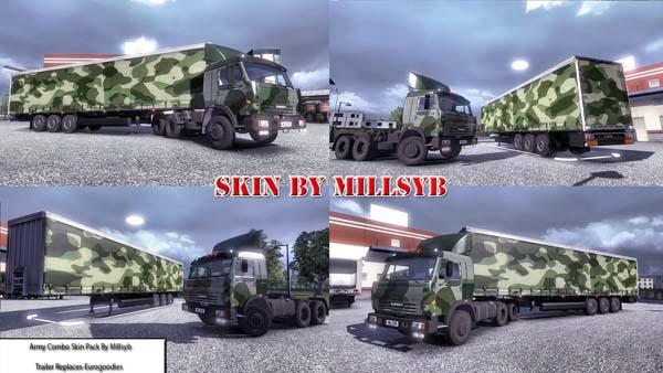 Army Skin Combo Skin Pack