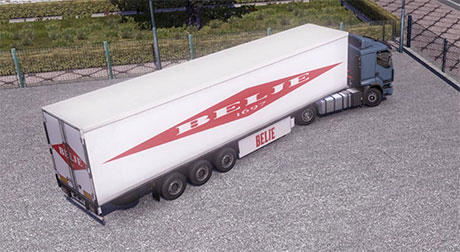 Belje skin for trailer