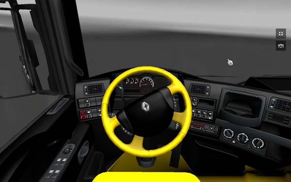 Black and yellow interior for magnum