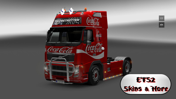 Coca Cola Volvo Skin