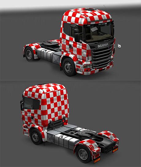 Croatia skin for Scania
