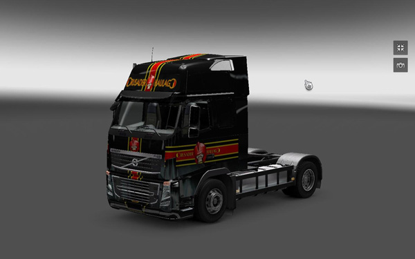 Crusader Haulage skin for Volvo FH16