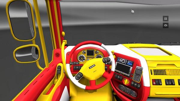 Daf Xf Interior V 1.3.1