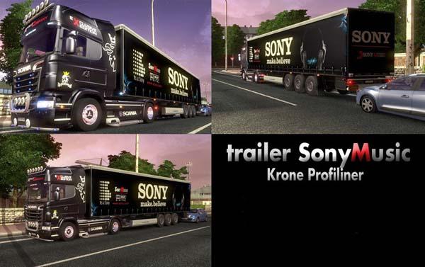 Trailer SonyMusic [Krone Profiliner]